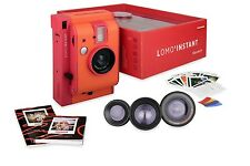 Lomo'Instant Marrakesh Edition + 3 Lenses Instant Film Camera Flash Lomography