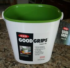 OXO GOOD GRIPS COMPOST BIN, NEW ITEM MISSING LID