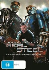 Real Steel NEW R4 DVD