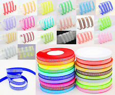"New hot 100YDS 3/8"" Cute Waves Multicolor Grosgrain Ribbon Hair bow Diy Craft"