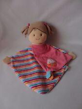 Sterntaler Schmusetuch Puppe Mädchen Laura ca. 28 cm. mit Rasselfunktion