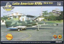 Wingman Models 1/48 LATIN AMERICAN KFIR FIGHTERS TC2 & TC10