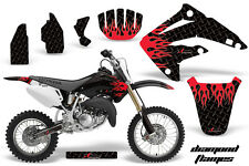 AMR Racing Honda CR85R Graphic Kit Decal Sticker MX Wrap 2003-2007 DMND FLAME R