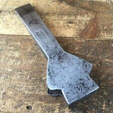 Antique Old Tools BRADES & Co England MORTISE AXE Head Vintage Hand Tool #117
