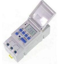 Interrupteur PROGRAMMATEUR HORAIRE DIGITAL 24V DC AC NUMERIQUE TIMER DIN   CL 09