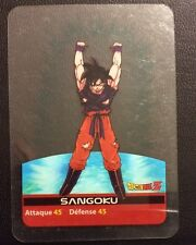 DRAGONBALL Z Lamincards n° 25 SANGOKU carte d'occasion Dragon Ball