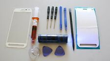 Samsung Galaxy S6 ACTIVE Front Glass Screen Replacement Repair Kit White