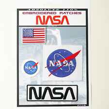 NASA Space Shuttle Pilot Iron-On Patch Super Set #106 - FREE POSTAGE!