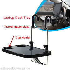 Multi Car Truck Tray Foldable Laptop Table Desk Support Steering Wheel Holder