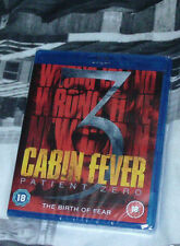 Cabin Fever 3 - Patient Zero (Blu-ray, 2014) new sealed