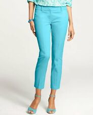 Brand New Ann Taylor Carnegie Cropped Pants Color Blue Size 6