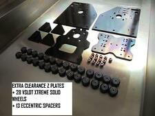 EXTRA Z CLEARANCE OX OPENBUILDS CNC GANTRY PLATES +28 V SLOT WHEEL 13 ECCENTRIC