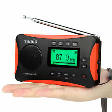 TIVDIO V-116 Digital DSP Radio World Band Receiver FM/ MW / SW Radio Alarm Best