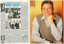 Coupure de presse Clipping 1986 (4 pages) Robert Lamoureux