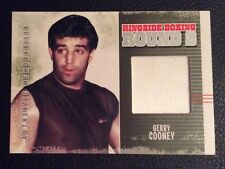 Gerry Cooney fight worn robe material boxing memorabilia card muhammad ali