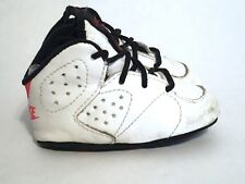 Nike First Jordan VI 6 OG  (CB) Crib Baby White Black 2c