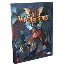 Wrath of Kings Hardcover Rulebook Cool Mini or Not Five Houses CMN WOK0001 New