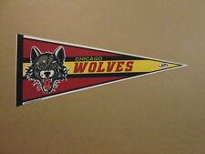 AHL Chicago Wolves Circa 2014 Logo Hockey Pennant