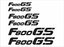 F800 GS Reflective Decal Kit for BMW Motorcycles