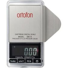 Ortofon DS-3 Digital Stylus Tracking Force Pressure Gauge Scale With Tracking