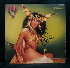 CHER-Autographed TAKE ME HOME Promotional Only Album-Diva-Cheescake Cover