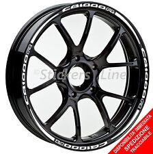 Adesivi cerchi moto Honda CB1000R strisce ruote CB 1000 R stickers wheels R.5