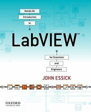FAST SHIP - JOHN ESSICK 2e Hands-On Introduction to LabVIEW for Scientists a X71