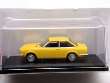 FIAT 124 SPORT COUPE 1971 YELLOW 1:43 DieCast Model Car