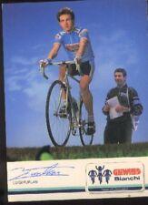 LUIGI FURLAN Signed GEWISS BIANCHI cyclisme Autograph cycling ciclismo radsport