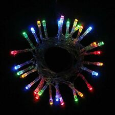 Battery Power 20/30/40/50/80 LED String Steady on Flash Modes LED Strip Decor