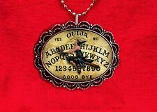 OUIJA BOARD WITCH PIN UP GIRL PSYCHIC GAME NECKLACE