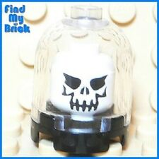 U131A Lego White Evil Skull in the Dome Halloween - NEW