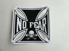 No Fear,Aufkleber,Decals,Iron Cross,Eiserne Kreuz,Auto,Bike,Helm,Black.