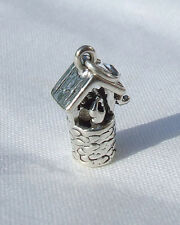 WISHING WELL FAIRY MAGIC 3D CHARMS CHARM 925 STERLING SILVER