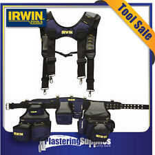 Irwin Ballistic Rig with Suspenders Nail Tool Bag IR-30297