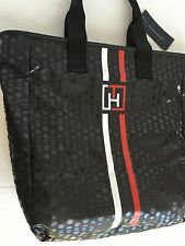 TH Tommy Hilfiger SPORT BAG Large/Shoulder Bag/Nylon/Black/$98/NWT