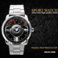 New BMW 3 Steering Wheel Metal Watch
