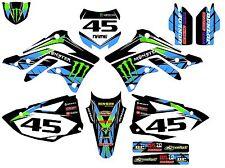 Kawasaki KX450F KXF450 2012 2013 2014 2015 2016 graphics