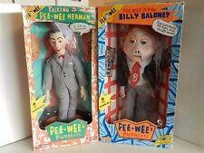 1987 Matchbox Talking Pee Wee & Billy Baloney Both NIB
