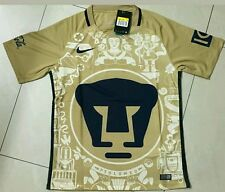 Pumas UNAM 2016/17 Home soccer Jersey Short sleeve Medium