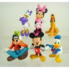 6 pcs Disney Mickey Mouse Clubhouse Figures Figurine Cake Toppers Christmas Gift