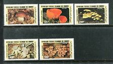Comoro Islands 623-627, MNH, 1985 Fungi,  mushrooms . x20373