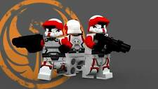 Old Photo. Toy Lego Old Republic Troopers