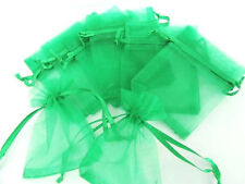 "100 Drawstring Organza Gift Bag 2x3"" Small Wedding Favor Pouch NO1-Pick 14 Color"