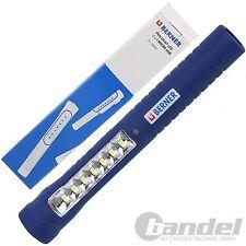 BERNER Pen Light LED 7+1 WERKSTATTLAMPE TASCHENLAMPE INSPEKTIONSLAMOE Li-Io Akku