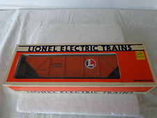 """O"" 0/27  LIONEL LINES HOPPER WITH COAL LOAD"