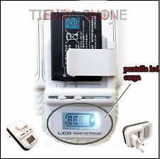 Cargador para Alcatel One Touch X'Pop Ot 5035 Universal USB Moviles Bateria PDA