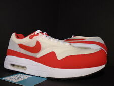 2009 Nike Air MAXIM 1+ MAX 1 WHITE SPORT RED COOL GREY BLACK 366488-161 NEW 10.5