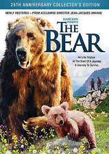 The Bear (DVD, 2015) Still sealed w/ a hole punch through UPC.