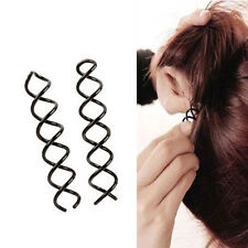 10Pcs Women Spiral Spin Screw Pins Hair Clips Twisted Barette Bridal Accessories
